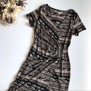 AA Studio Faux Wrap Dress